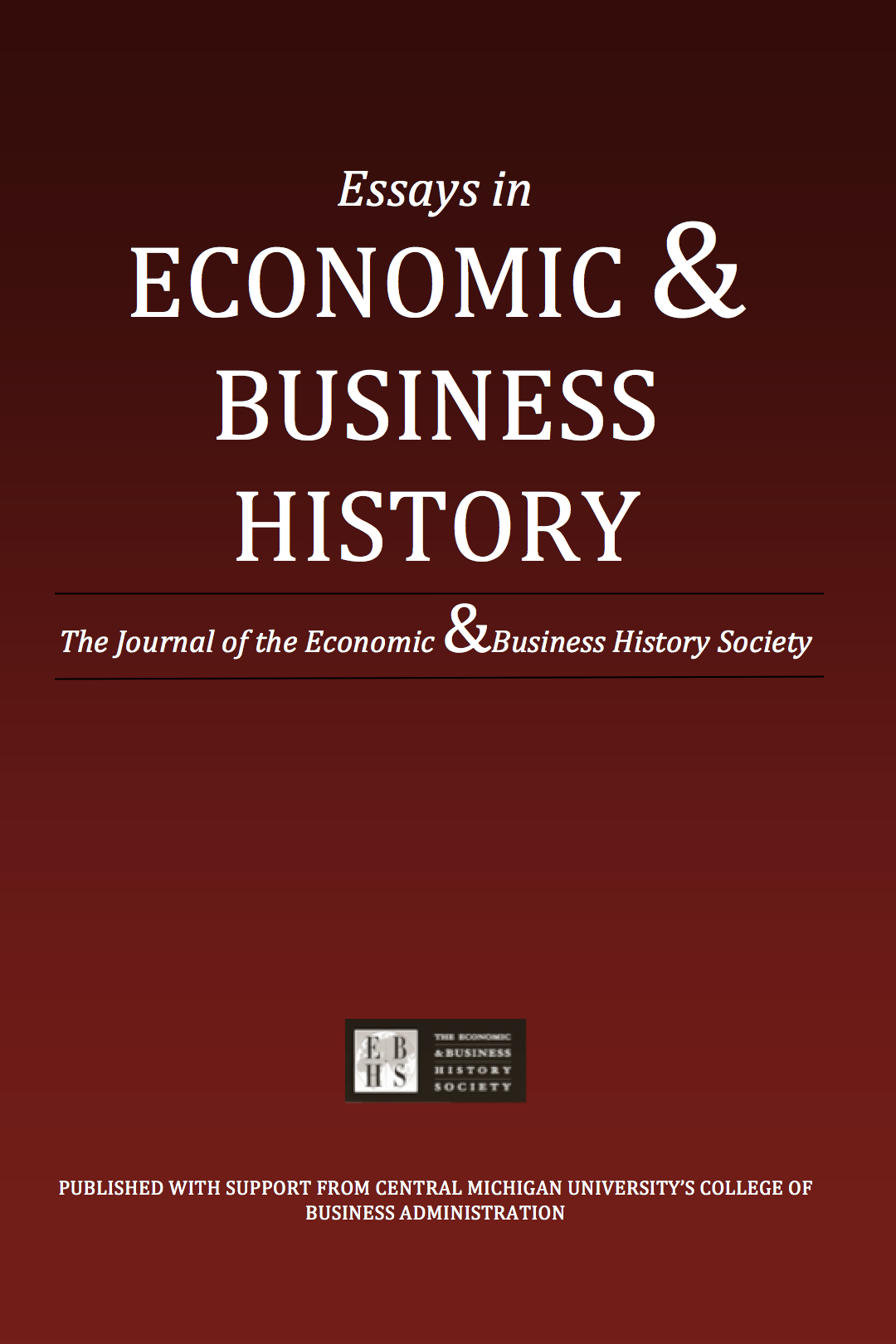 essays economic business history journal Description: history of economic ideas is a new international series of quaderni di storia dell'economia politica, a journal founded in 1983 to promote collaboration between scholars who share an historical approach to the major issues, the various revolutions which have left their mark on economics and the spread of economic ideas beyond the narrow circle of specialists.
