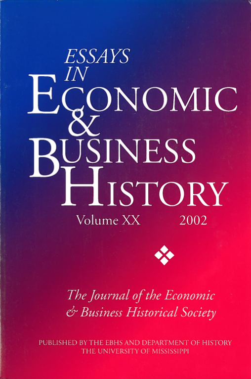 Essays in Economic & Business History 2002