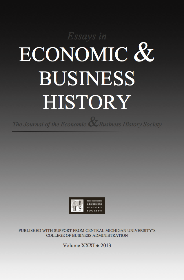 Essays in Economic & Business History 2013