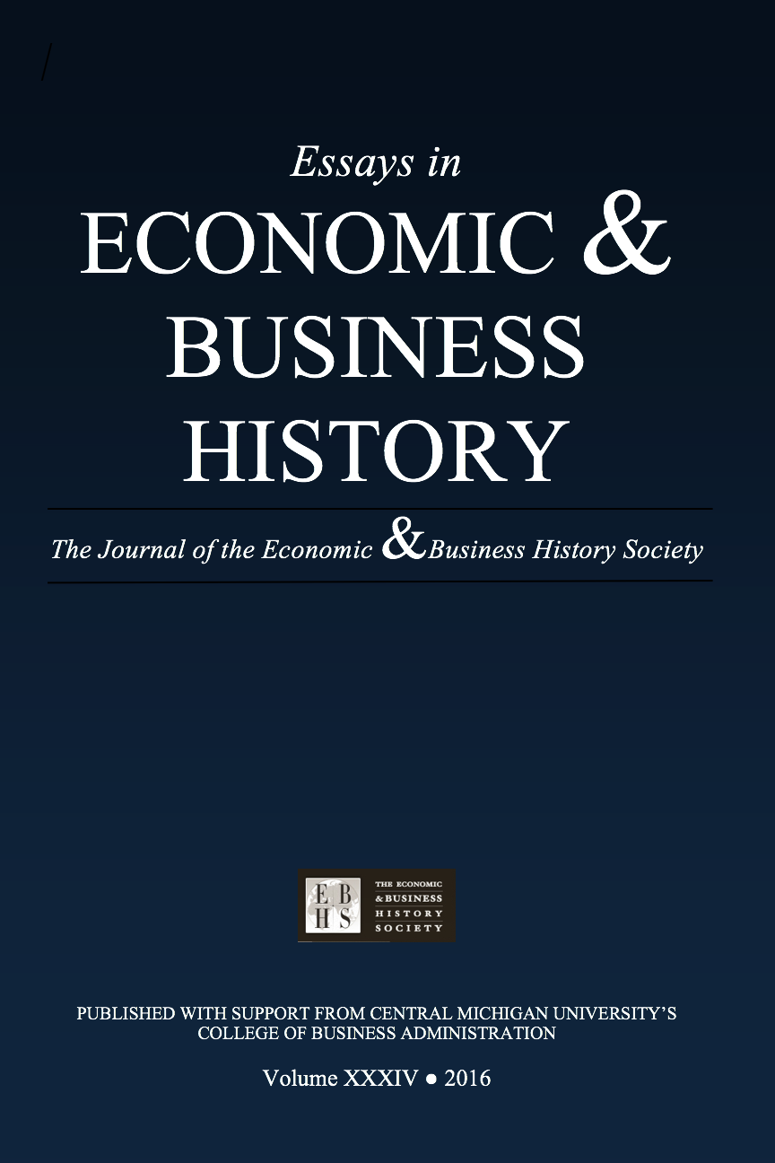 Essays in Economic & Business History 2016