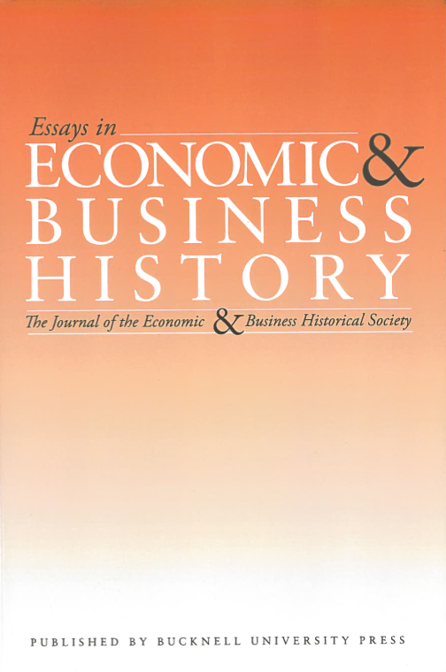Essays in Economic & Business History 2012