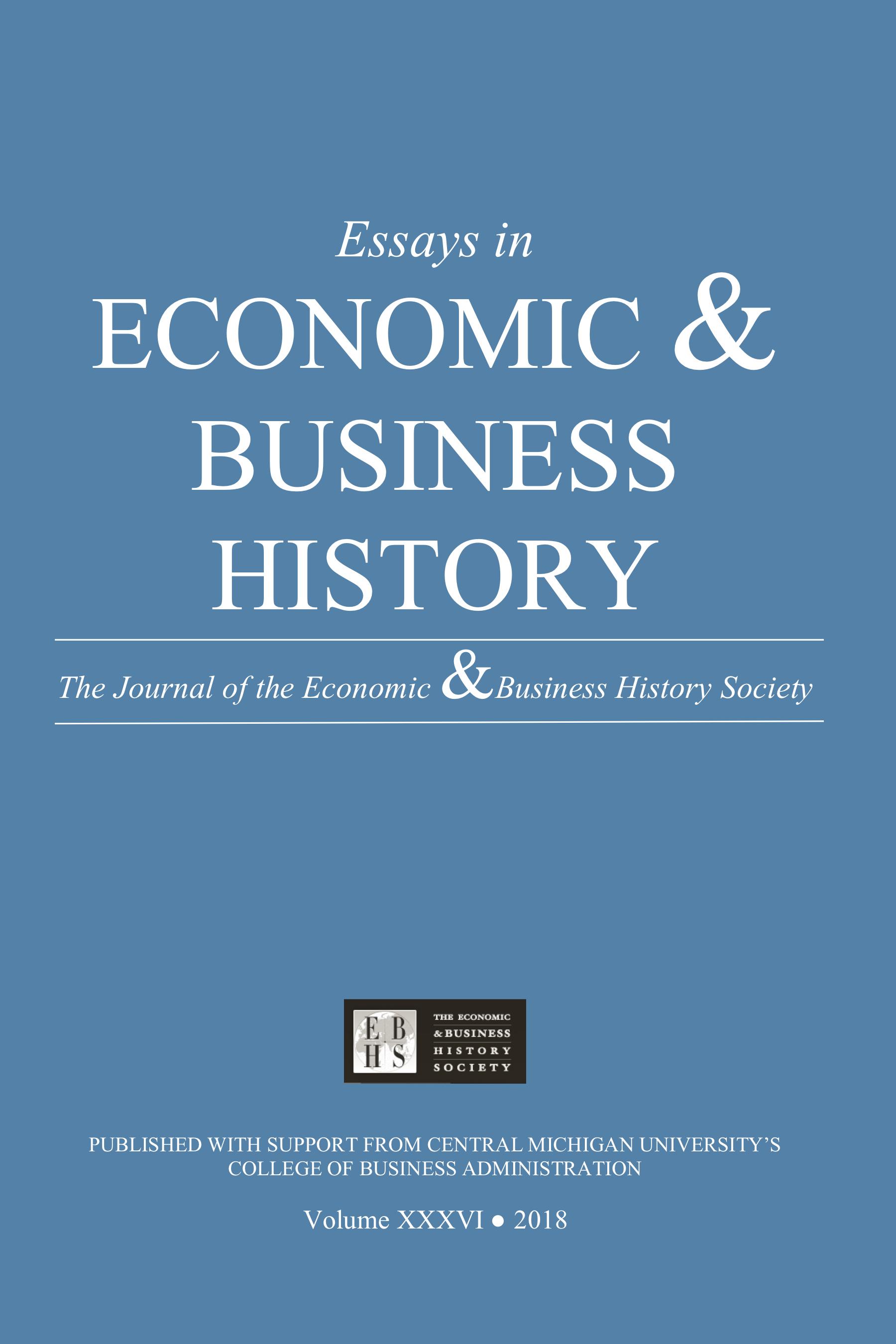 Essays in Economic & Business History 2018
