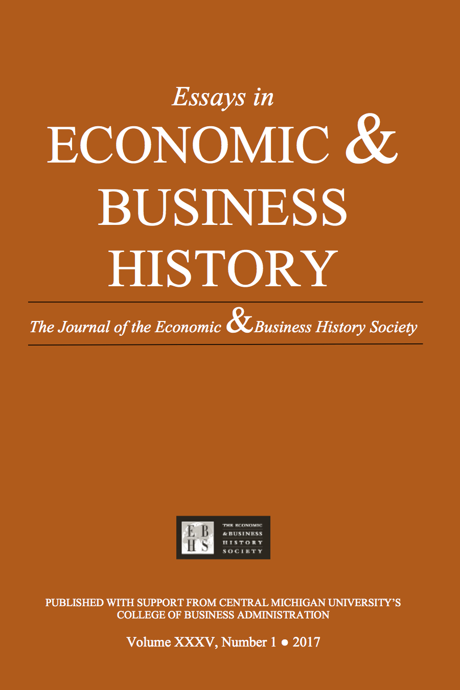 Essays in Economic & Business History 2017 (1)