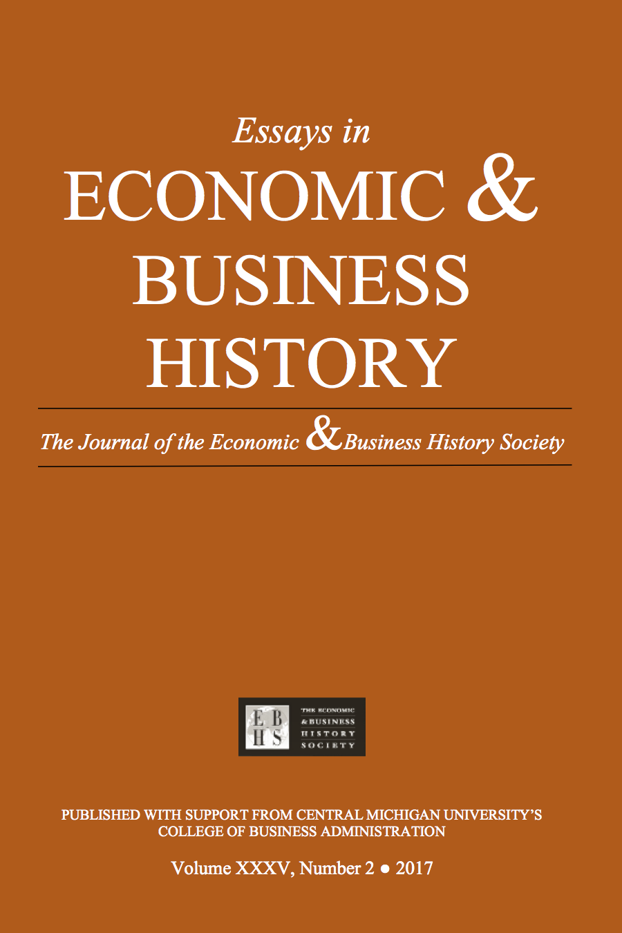 Essays in Economic & Business History 2017 (2)